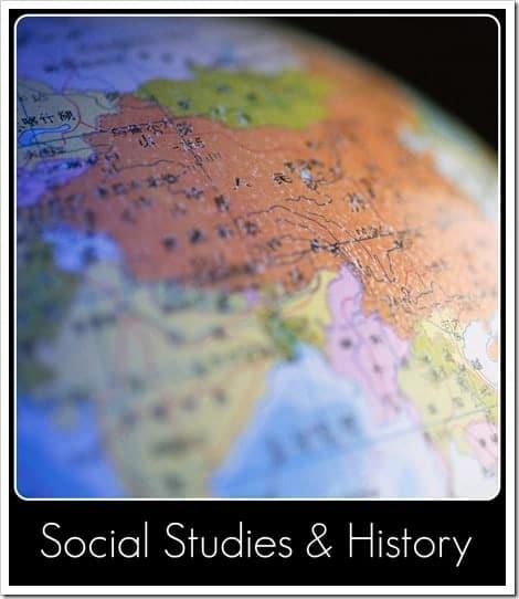 Social Studies button
