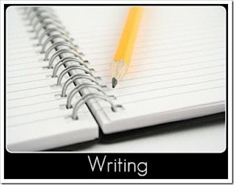 Writing button