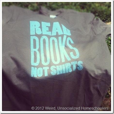 Read Books shirt