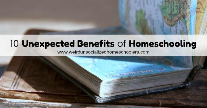 Unexpected Benefits of Homeschooling