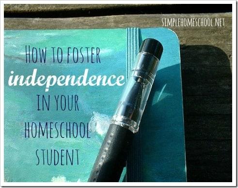 homeschool independence