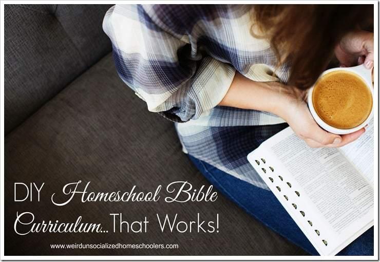 DIY Homeschool Bible Curriculum...That Works!