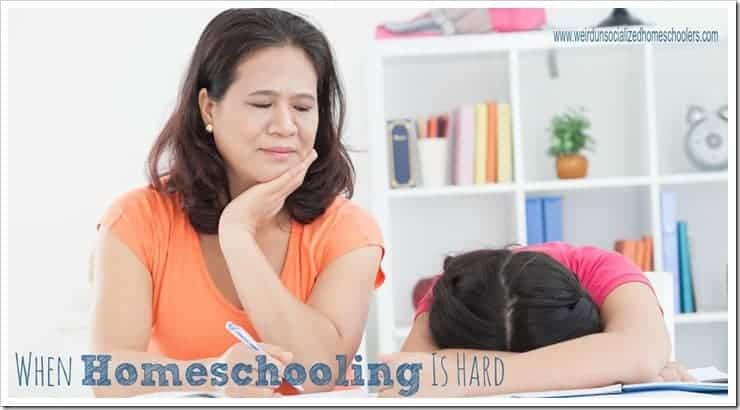 When Homeschooling Is Hard