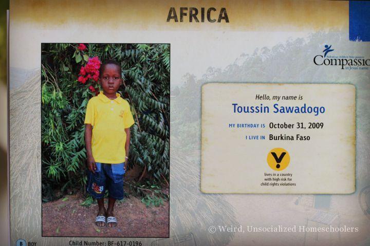 Compassion International Child Sponsorship