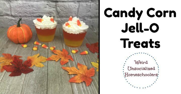 Candy Corn Jell-O Treats