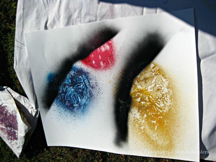 Painting Stars Step 3