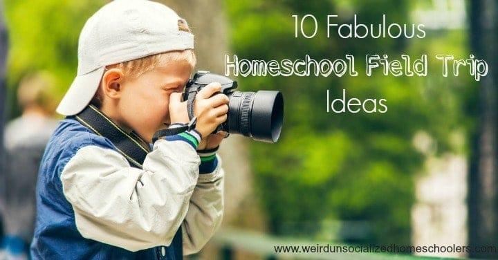 10 Fabulous Homeschool Field Trip Ideas