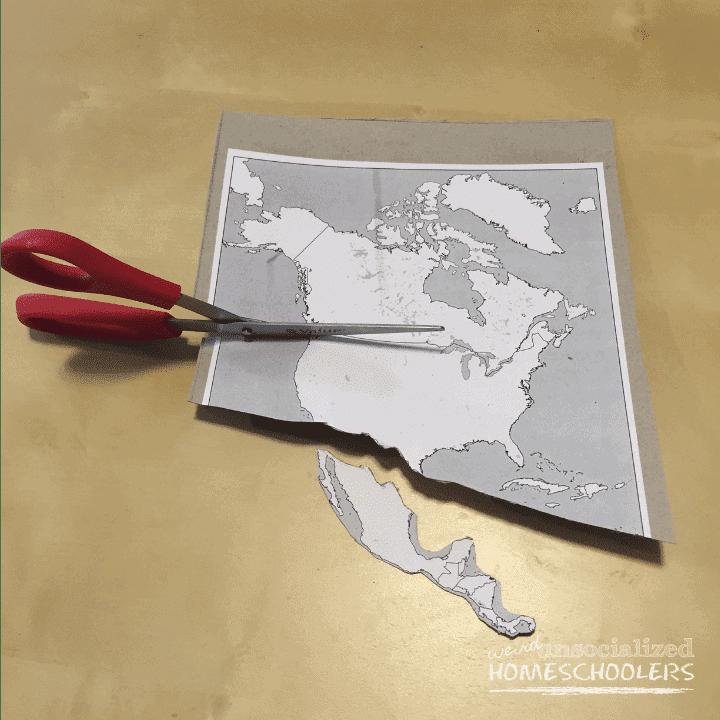 DIY Puzzle Map
