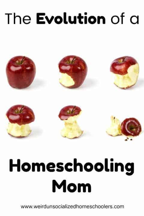 evolution of a homeschooling mom