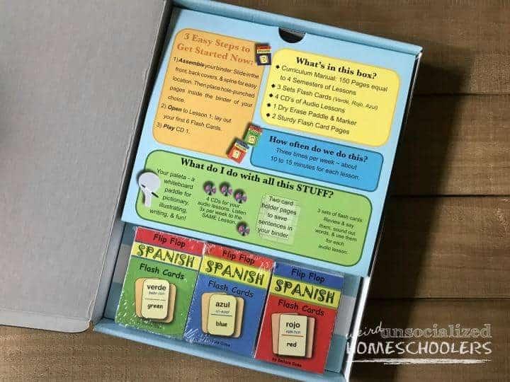 Elementary Homeschool Spanish