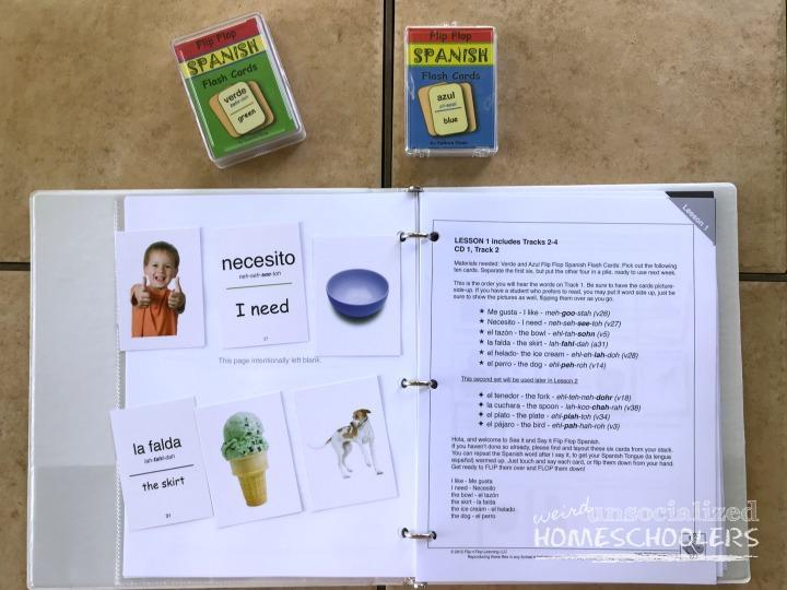 homeschool Spanish
