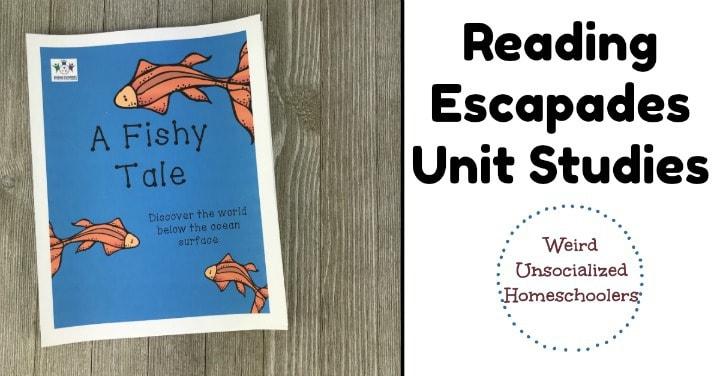 Reading Escapades Unit Studies Review