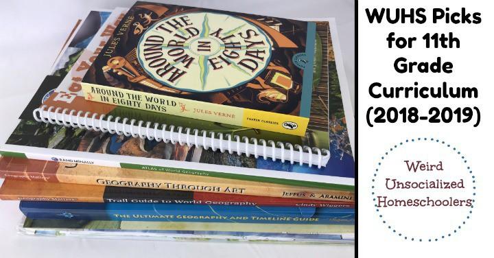 WUHS Picks for 11th Grade Curriculum (2018-2019)