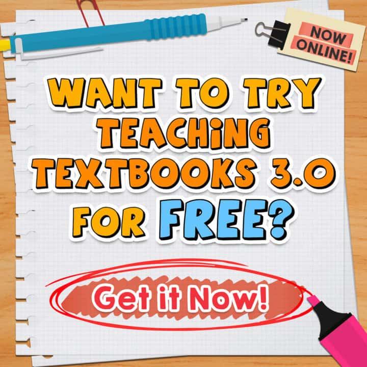 Teaching Textbook Free Trial