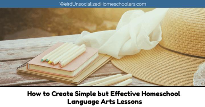 Homeschool Language Arts Lessons
