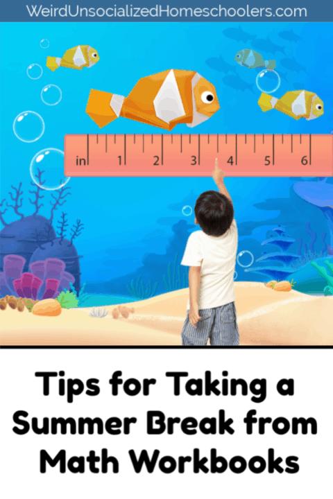 Tips for Taking a Summer Break from Math Workbooks