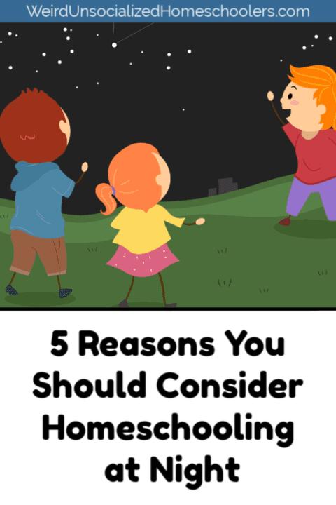5 Reasons You Should Consider Homeschooling at Night